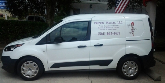 moppin' maggie vehicle lettering
