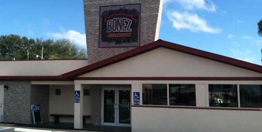 bonez smokehouse max metal sign