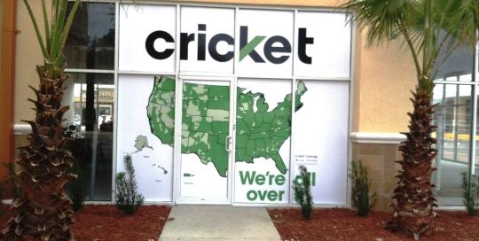 cricket wireless window graphic