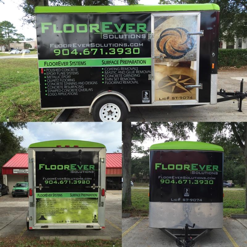 floorever trailer wrap