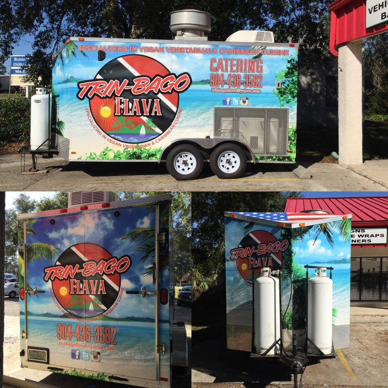 trin-bago food trailer wrap